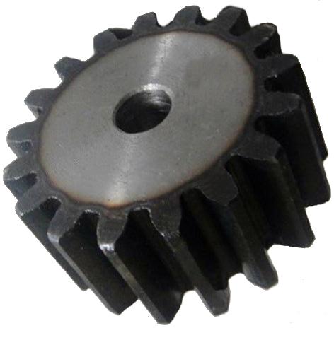 Zahnrad Modul 1,0 12 Zähne Stirnzahnrad aus Stahl